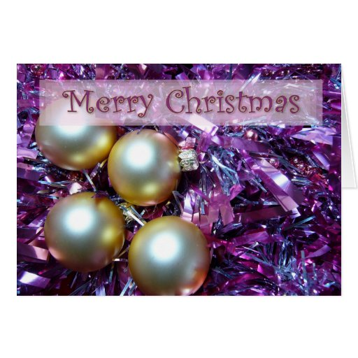 Holiday Glitter Greeting Cards