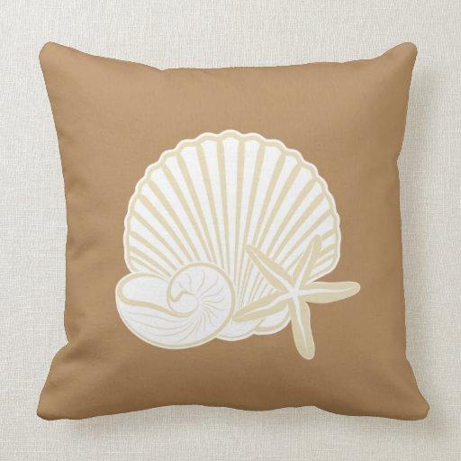 Beach Theme Blanket: Home Decor Beach Theme Throw Pillow