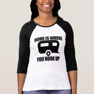 Home is where you hook up pillow