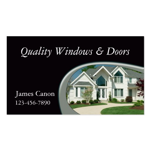 Home Remodeling Double-Sided Standard Business Cards (Pack