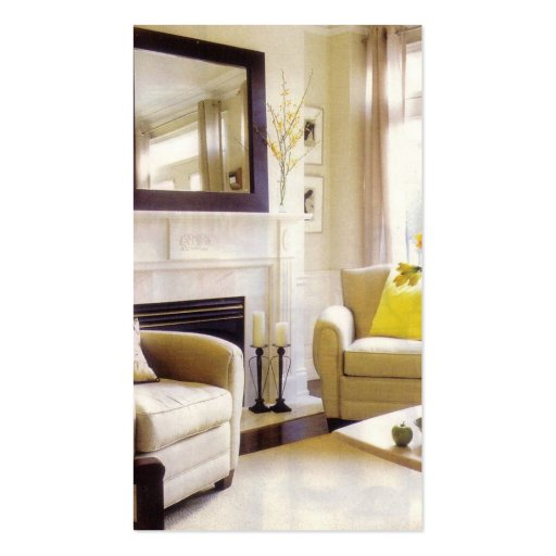 home staging business card zazzle. Black Bedroom Furniture Sets. Home Design Ideas
