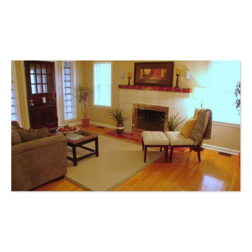 home staging business card. Black Bedroom Furniture Sets. Home Design Ideas
