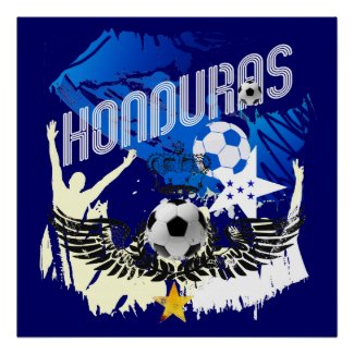 Honduras World Cup 2014 Flag