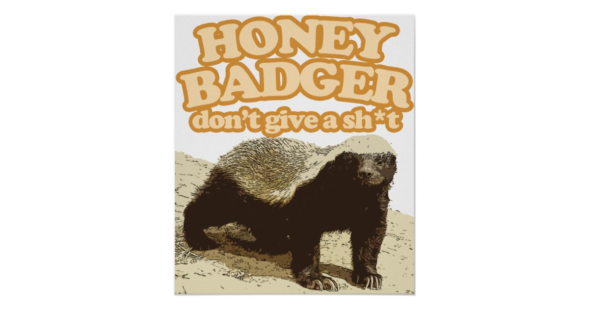 Honey badger dont give a shit - photo#34
