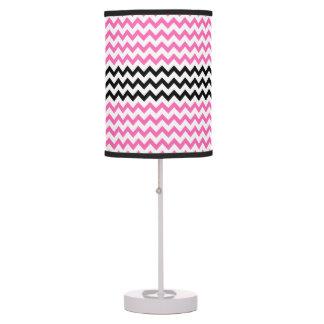 Pink Chevron Table Amp Pendant Lamps Zazzle