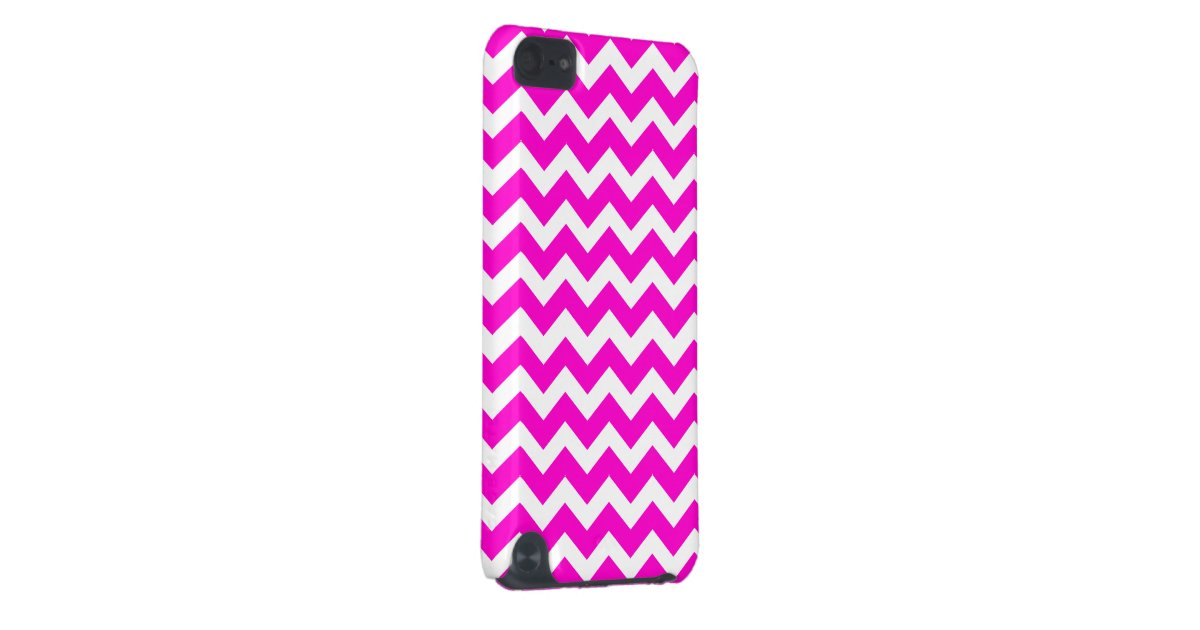 Hot Pink Fluorescent Pink iPod Touch 5G Cover | Zazzle  Hot Pink Fluore...
