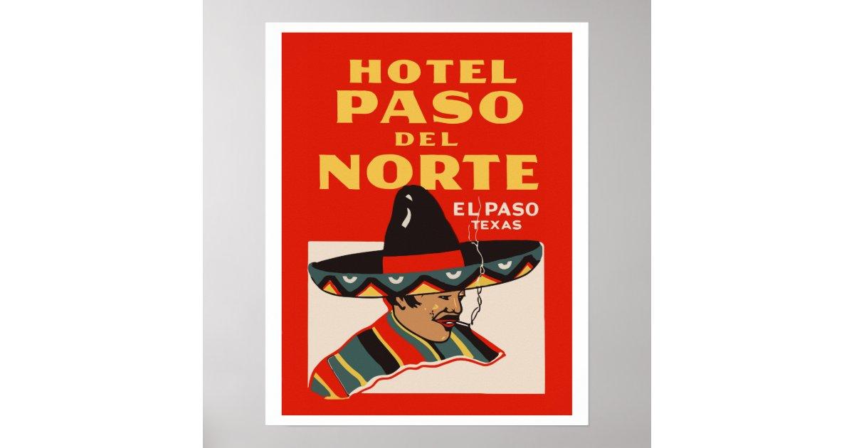 Wedding Invitations El Paso Tx: Hotel Paso Del Norte (El Paso - Texas) Poster