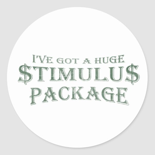 Position paper were the stimulus packages