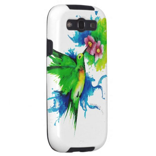 Humming Bird Phone Case Samsung Galaxy SIII Case | Zazzle