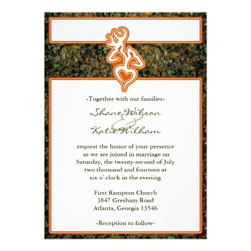 Personalized Hunter Green Invitations Custominvitations4u