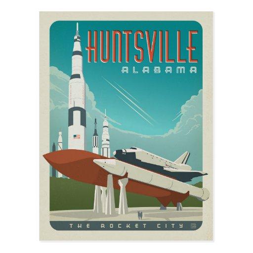 Huntsville, Alabama Postcard