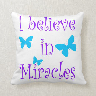Believe In Miracles Pillows Decorative Amp Throw Pillows