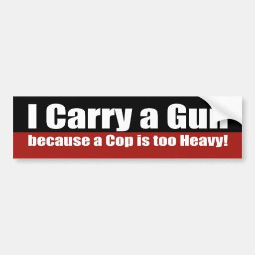 Gun Free Zone Bumper Sticker | Zazzle |Gun Bumper Stickers