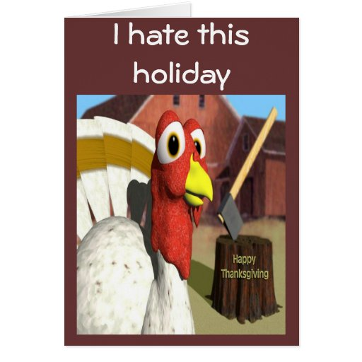 I Hate This Holiday Greeting Cards