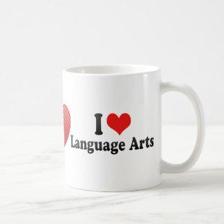 I Love Language Arts Classic White Coffee Mug | Zazzle |Love Language Arts