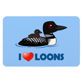 Cartoon Loon Magnets, Cartoon Loon Magnet Designs for your ...