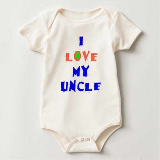 I Love My Uncle Shirt Zazzle