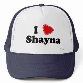 I Love Shayna Mesh Hats