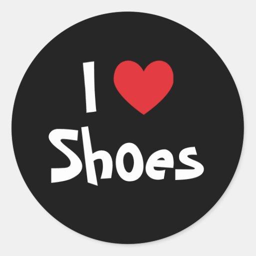 I Love Shoes Sticker