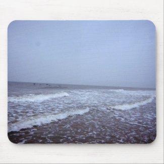I Love The Ocean! mousepad