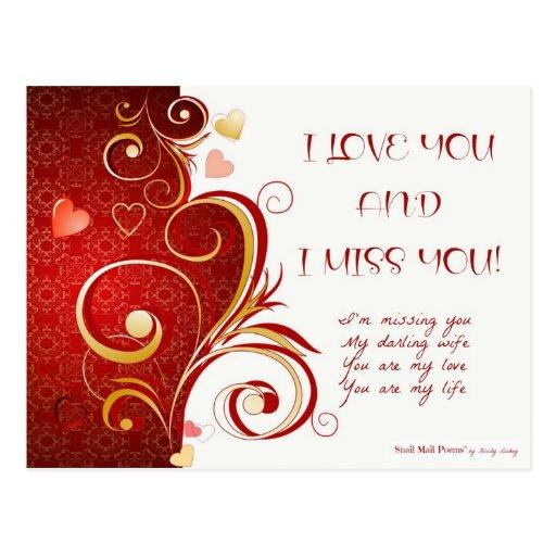 i miss you relationship poems for kids