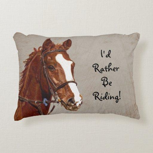 Pillow riding