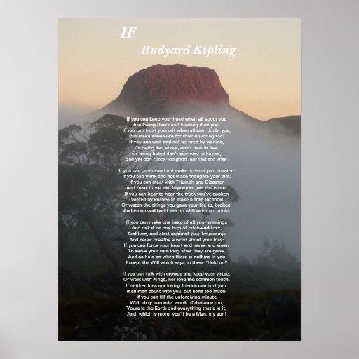 if by rudyard kipling essay analysis of poem if by rudyard kipling essays