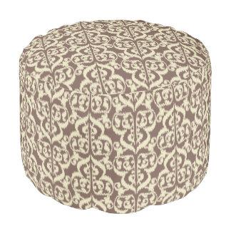 taupe poufs taupe ottoman designs. Black Bedroom Furniture Sets. Home Design Ideas