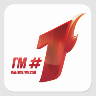 I'm #1 sticker