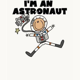 I'm An Astronaut Kid's T-shirt shirt