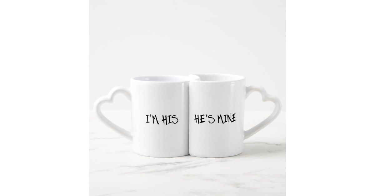 His And Her Gifts For Wedding: I'M HIS. HE'S MINE, HIS AND HIS GAY WEDDING GIFT COUPLES