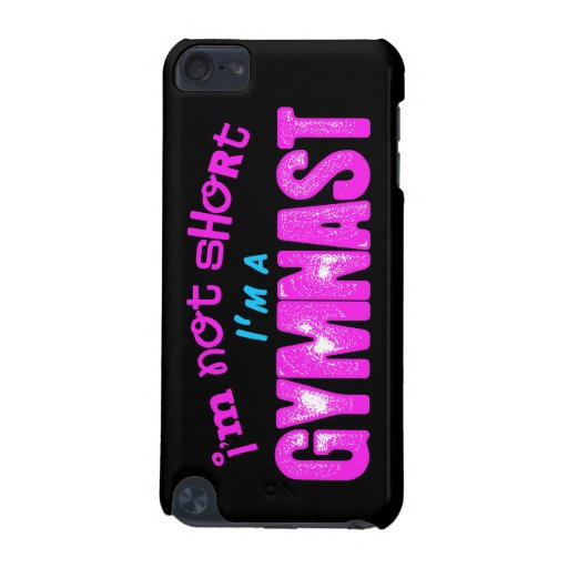 I'm Not Short, I'm a Gymnast Pink and Blue iPod Touch (5th ...