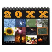 Inspirational Scripture Art Bible Verse Calendar