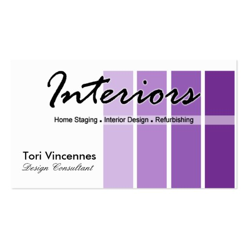 Interiors Home Staging Realty Designer Business Double