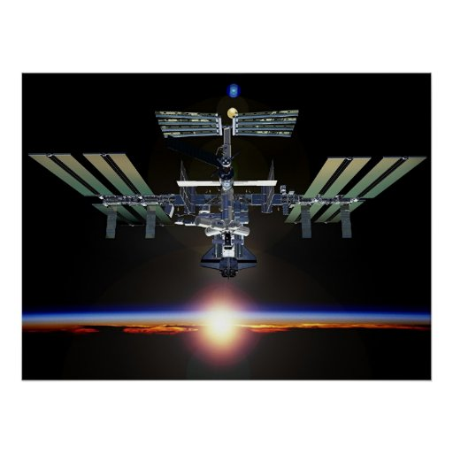 printable space station - photo #1