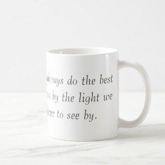Into the Light Mug