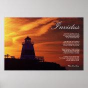Invictus ~ Inspirational Poem ~ Canvas