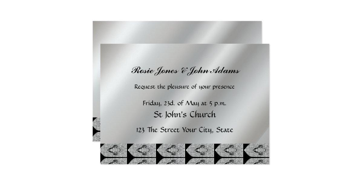 Cheap Plain Wedding Invitations: Invite Nice Simple Cheap Wedding Invitation