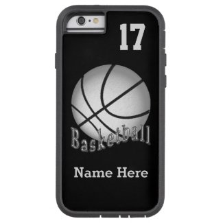 iPhone 6 Basketball Cases NAME, NUMBER and COLORS