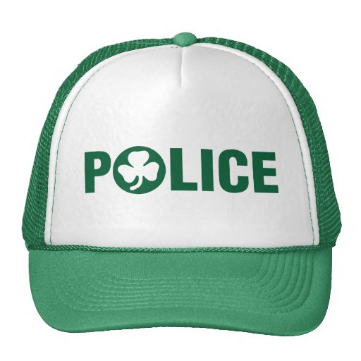 Irish Police: Irish Police Trucker Hat