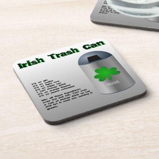 Irish Trash Can Drink Recipe Drink Coasters