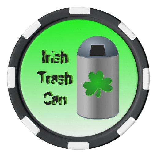 Irish Trash Can Drink Recipe Poker Chips
