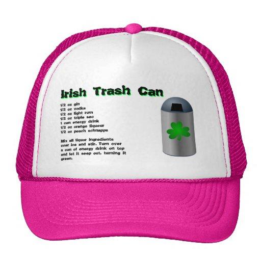 Irish Trash Can Drink Recipe Trucker Hat