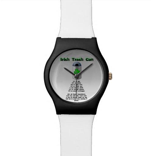 Irish Trash Can Drink Recipe Wrist Watch