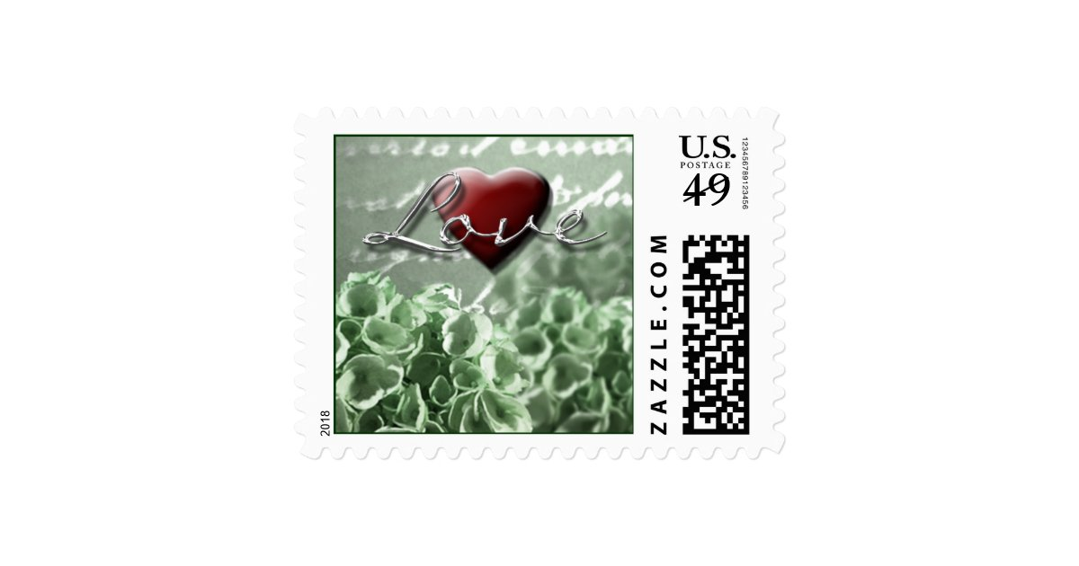 Stamps For Wedding Invitations: Irish Wedding Invitation Love Postage Stamps