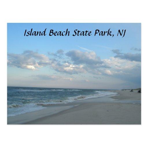 Island Beach State Park: Island Beach State Park, NJ Postcard