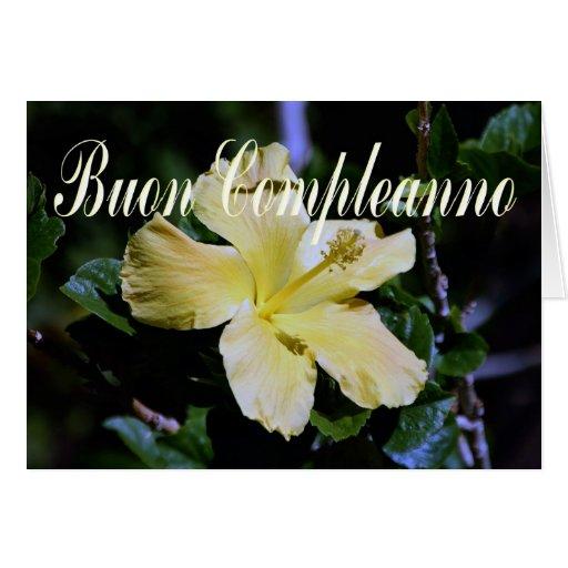 Italian Birthday Card