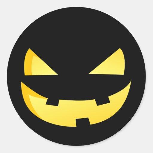 Aninimal Book: Jack-o'-lantern faces - Happy Halloween! Stickers   Zazzle