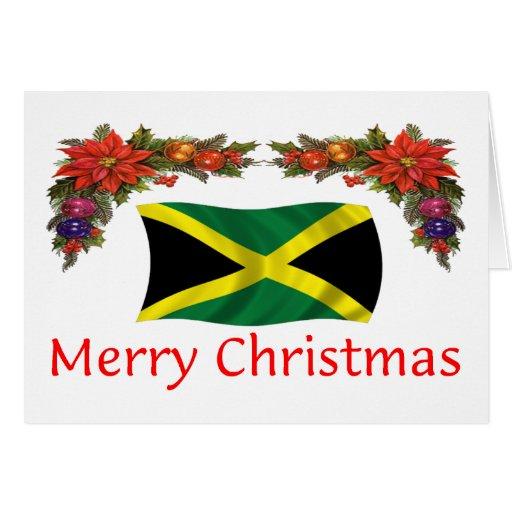 Jamaica Christmas Card   Zazzle