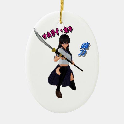 Japanese Anime Girl Ornaments & Japanese Anime Girl ...